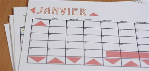 Calendrier Fait Maison Diy Mon Calendrier 2013 Fait Maison Merci Pour Le