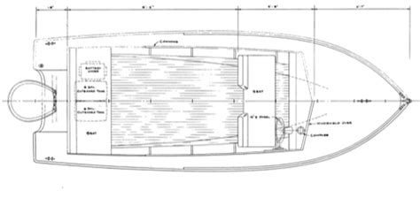 hacker boat plans 18 plywood runabout downeaster woodenboat magazine