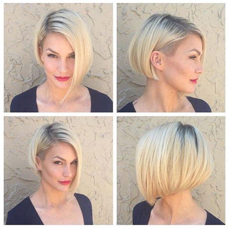 hairstyling bob mit sidecut medium hairstyles to make you look younger bobbade