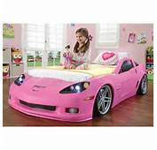 Step2 Corvette Convertible Toddler To Twin Bed With Lights  Walmart