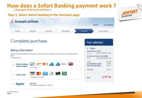 sofort bank login sofort banking infopme idea event