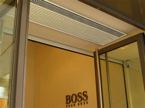 restaurant air curtain recessed optima air curtain