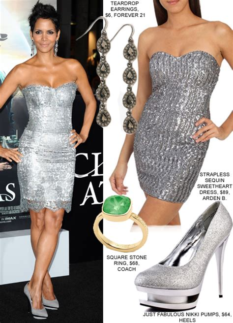 how to accessorise a silver dress
