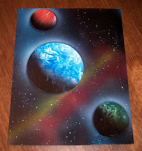 spray paint space tutorial spray paint space flickr photo