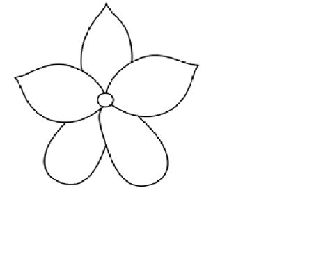 best photos of flower templates to trace flower pattern