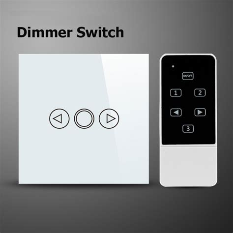 smart home wall light dimmer wifi switch 220v eu wireless