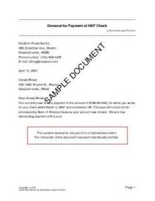 demand for payment of nsf check canada templates