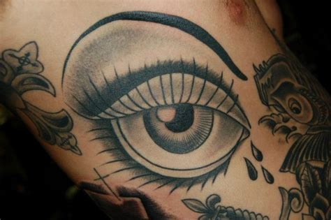 tattoo eye new school old school eye tattoo by gold rush tattoo