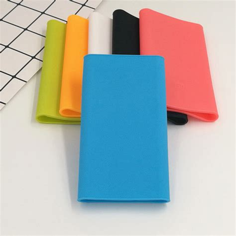 Silicone Cover For Xiaomi Pow 10000mah 2nd Generation Oem Biru silicone protective back cover for xiaomi mi 2nd generation power bank 10000mah sale