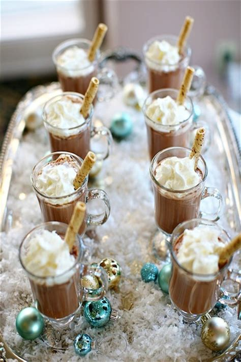 Hot Cocoa Bar for Winter Weddings