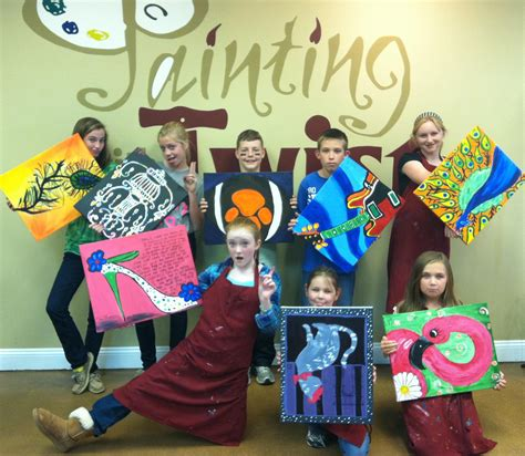 paint with a twist painting with a twist kid s choice charlottehappening