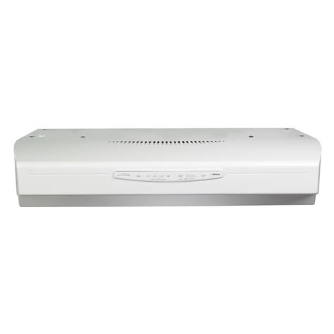 white range hood under cabinet broan qs336ww 36 430 cfm under cabinet range hood white