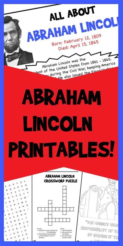 printable abraham lincoln quotes abraham lincoln printables woo jr kids activities
