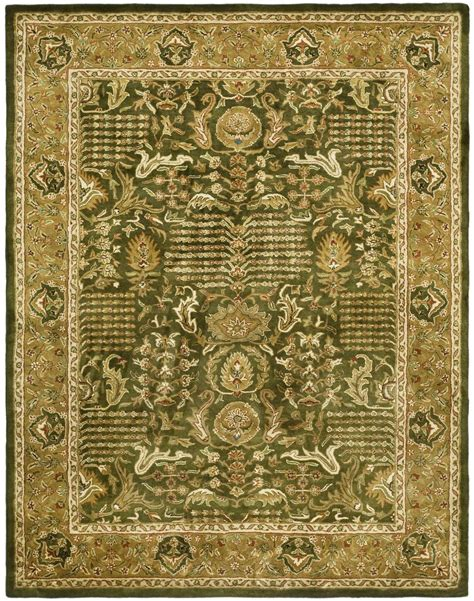 green and gold rug safavieh classic cl764b light green and gold area rug free shipping