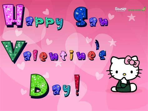 Wallpaper Hello Kitty San Valentin | hello kitty valentine wallpapers wallpaper cave