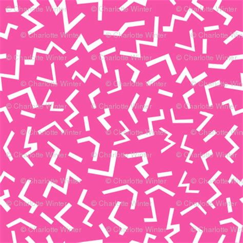 girly edgy wallpaper edgy shapes memphis 90s 80s pink girly hot pink wallpaper