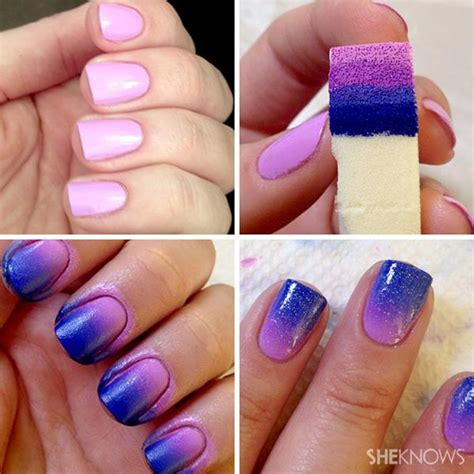 ombre design frontline diy nails ombr 233 edition