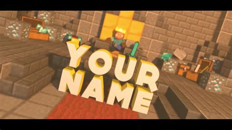 minecraft intro template blender 4 topfreeintro com