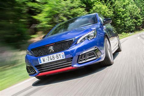 peugeot 308 gti blue 2017 peugeot 308 gti review auto express