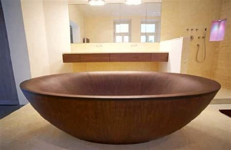 wood bathtubs awesome wooden bathtubs well done stuff