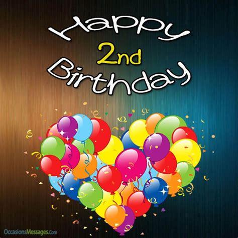 Happy 2nd Birthday Wishes For Happy 2nd Birthday Wishes My Blog