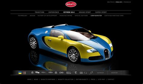 build your online bugatti veyron gets new online configurator