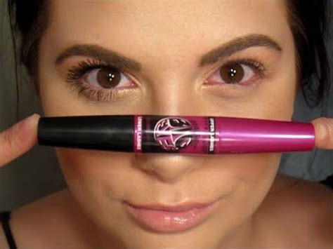 Mascara Big Eye review demo maybelline the falsies big mascara