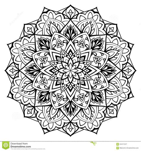 vector ornamental mandala stock vector image 64411247