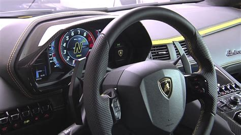 lamborghini inside 2017 2017 lamborghini aventador s interior close up youtube