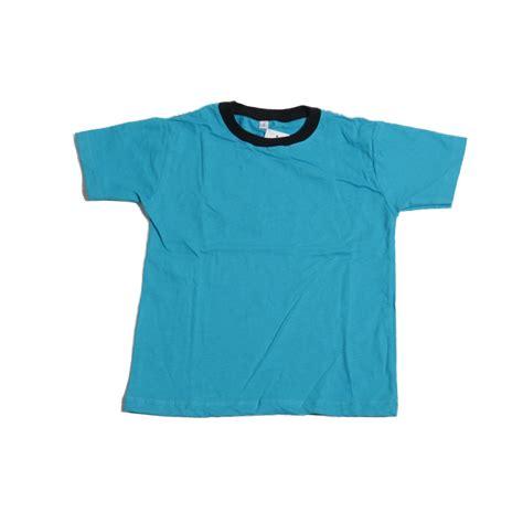 Kaos Unisex kaos polos lengan pendek kaos anak lengan pendek ukuran