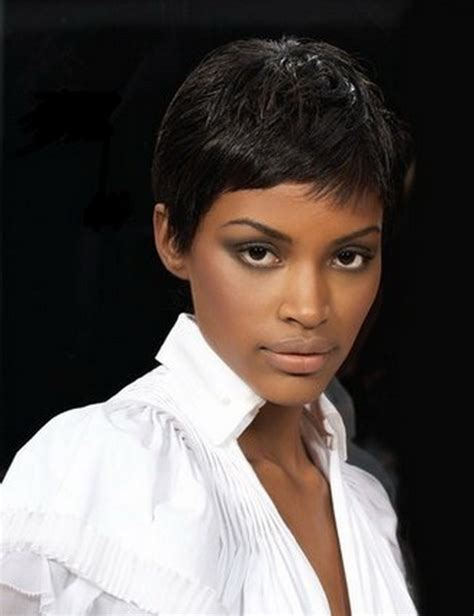very short feathered hair cuts very short pixie haircuts for black women