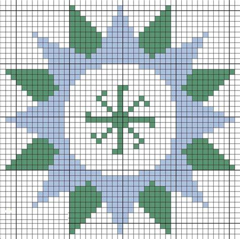 Схема вышивки крестом оберега семьи