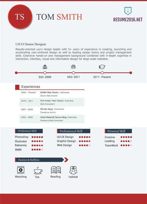 Graphic Design Resume Samples by 20 Awesome Resume Templates 2016 Get Employed Today