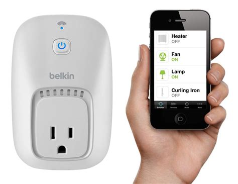 belkin wemo app controlled home automation switches