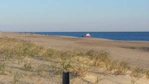lewes fire boat water rescue from the surf in dewey beach delaware surf