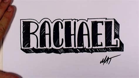 graffiti writing rachael  design    names