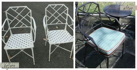 redoing patio furniture pin by wellons on d d before after