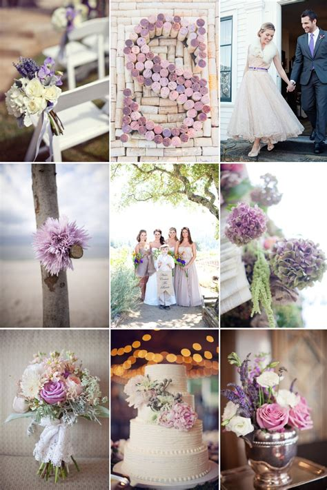 romantic color schemes romantic wedding color inspiration soft plum lilac