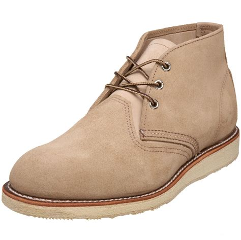 mens chukka work boots wing wing shoes mens work chukka boot in brown for