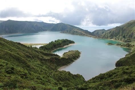 turisti per caso azzorre l incantevole lago di lagoa do fogo viaggi vacanze e