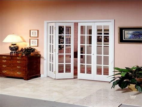 enhance  living space   bi fold french doors