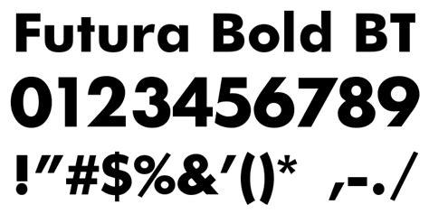 you futura futura bold free font