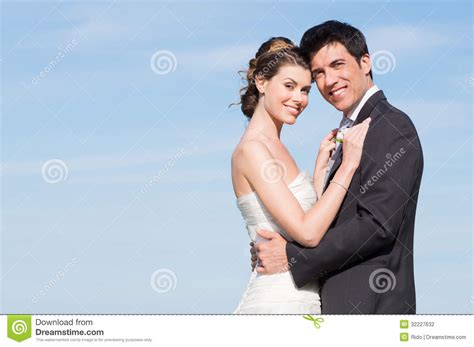 Marriage Portrait Photography by Happy Married Stock Photo Image Of Feeling Gown