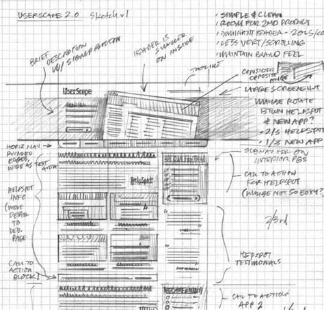 layout web sketch 40 exles of web design sketches and wireframes