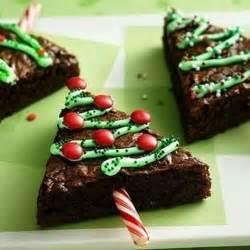christmas tree brownies feed me pinterest