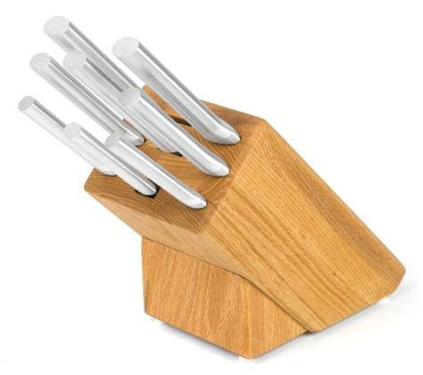 rada kitchen knives rada cutlery s43 colossal oak block set nothing made in