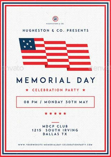 ffflyer download the best memorial day flyer templates for photoshop