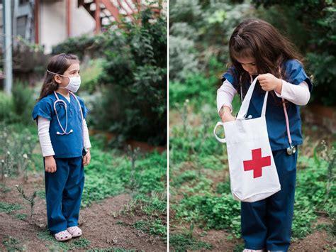 diy doctor kit costume  kids kaley ann