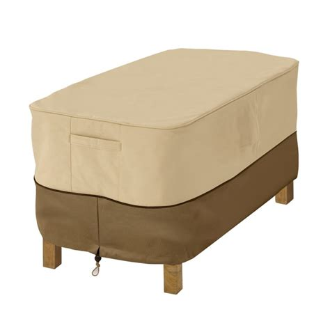 Veranda Veranda Patio Coffee Table Cover The Home Depot Patio Table Cover
