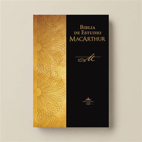 biblia de estudio macarthur rvr biblia de estudio rvr macarthur rustica punto cristiano